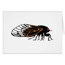 Magicada - Cicada - Cigale - Summer Buzz Card