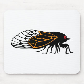 Magicada - Cicada - Cigale - Summer Buzz Mouse Pad