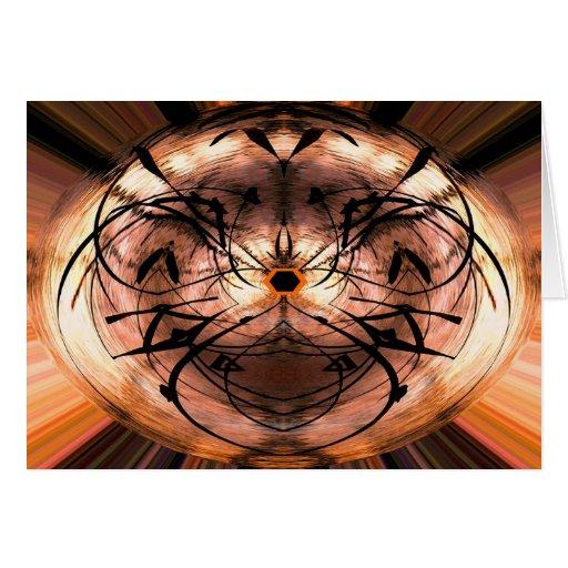 Magical Abstract Horizontal Cards