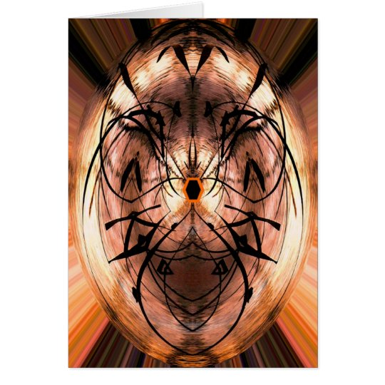 Magical Abstract Vertical Card