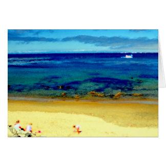 Magical Beach Day Card