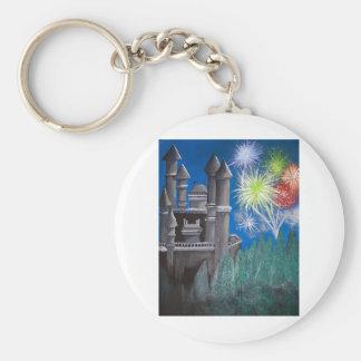 Magical Beginnings Basic Round Button Keychain