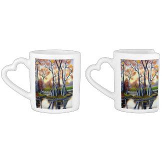 Magical Birch Bay Lagoon Coffee Mug Set