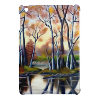 Magical Birch Bay Lagoon Cover For The iPad Mini