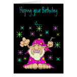 Magical Birthday Greeting Cards