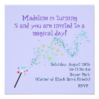 Magical Birthday Invitation