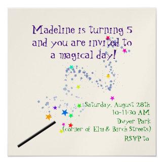 Magical Birthday Invitation 2