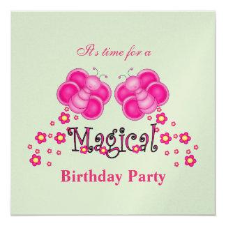 Magical Birthday Party Invitation