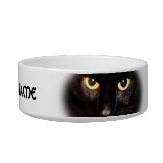 Magical Black Cat pet food bowl