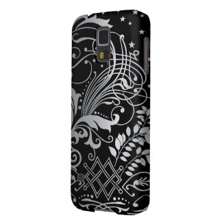 Magical Black Demask Lace Case For Galaxy S5