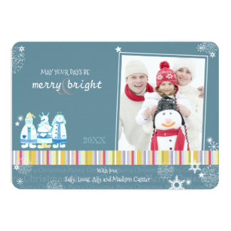 Magical Blessings Holiday Photo Card