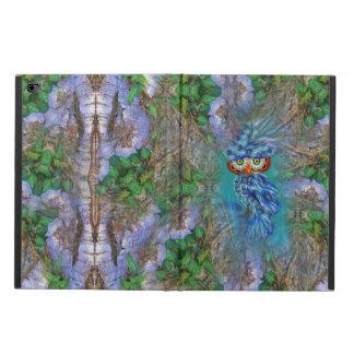 Magical Blue Plumage Owl Tree Bark iPad Air Case