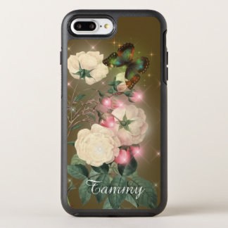 Magical butterfly add name iPhone 7 plus case