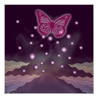 Magical Butterfly Posters | Wall Art - large