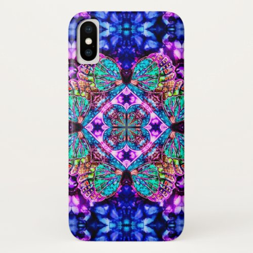 Magical Butterfly Watercolor Mandala Case Phone Case
