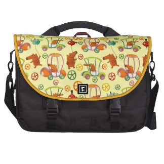 Magical Car Pattern Commuter Bags