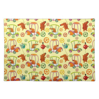 Magical Car Pattern Placemats