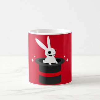 Magical Cartoon Rabbit Hat Coffee Mug