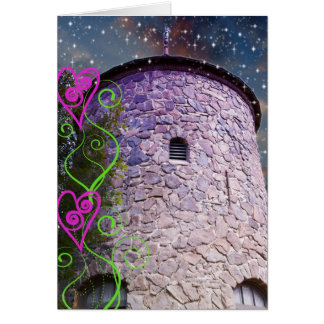 Magical Castle Greeting Card