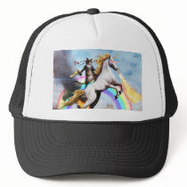 Magical Cat & Unicorn Trucker Hat