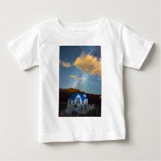 Magical Chapel On The Rock Milky Way Sky Tee Shirt
