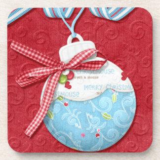 Magical Christmas Bulb Coaster