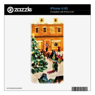 Magical Christmas iPhone 4 Skins