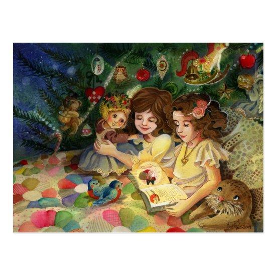 Magical Christmas Postcard