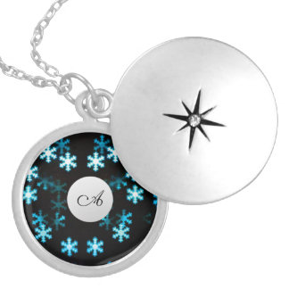 Magical Christmas snowflakes Locket Necklace