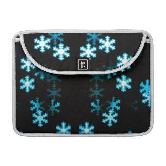 Magical Christmas Snowflakes Sleeve For MacBooks