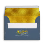 Magical Christmas Typography Gold ID441 Envelope