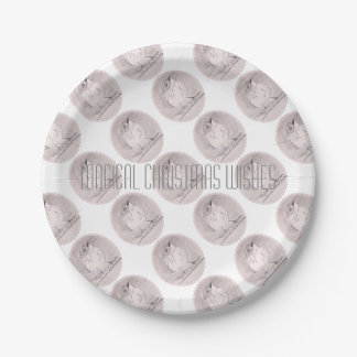 Magical Christmas Wishes Paper Plate