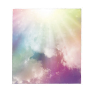Magical Clouds Note Pad