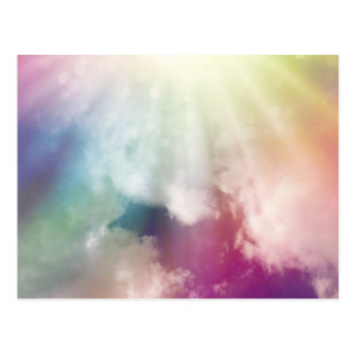 Magical Clouds Postcard
