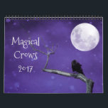 "Magical Crows 2017 Calendar<br><div class=""desc"">Mystical and magical crows fill this 2017 calendar.</div>"