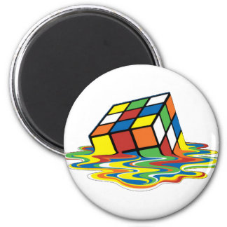 Magical cube magnet