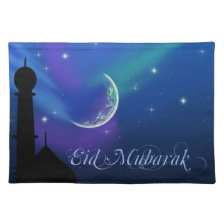 Magical Eid Night - Islamic Greeting Placemat Cloth Place Mat