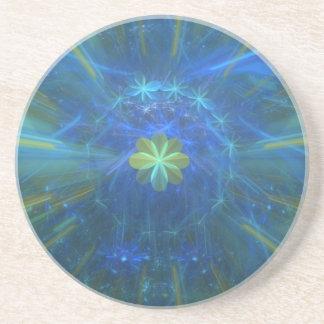 Magical Eight Leaf Clover Coaster