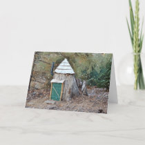 Magical Elf House Holiday Card
