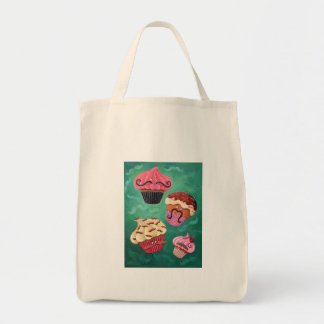 Magical Emporium of Flying Mustached Cupcakes Canvas Bag
