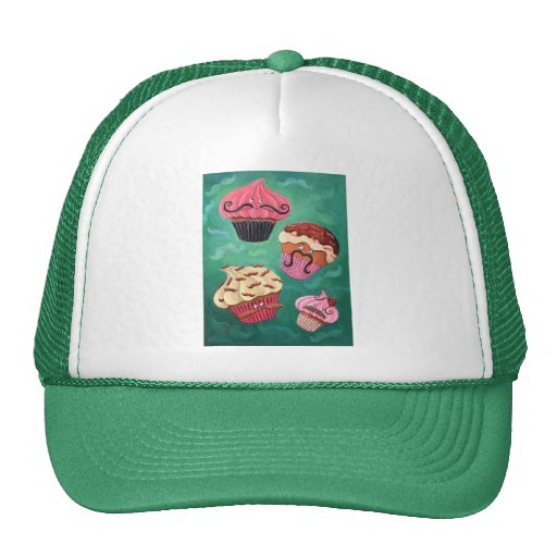 Magical Emporium of Flying Mustached Cupcakes Hats