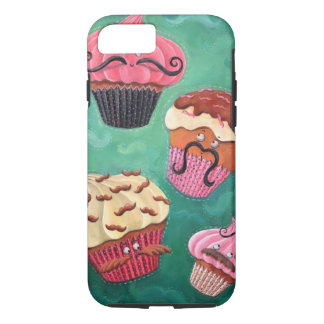 Magical Emporium of Flying Mustached Cupcakes iPhone 7 Case