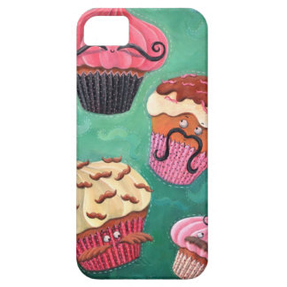 Magical Emporium of Flying Mustached Cupcakes iPhone SE/5/5s Case