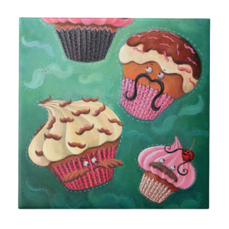 Magical Emporium of Flying Mustached Cupcakes Tiles