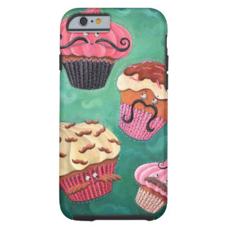 Magical Emporium of Flying Mustached Cupcakes Tough iPhone 6 Case