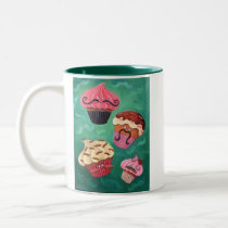 artsprojekt, mustaches, mustache, cupcake, dessert, cherry, i mustache you a question, sweet, cake, cute food, cute, moustaches, moustache, facial hair, mustache question, flying mustaches, sweet mustaches, funny mustaches, Mug with custom graphic design