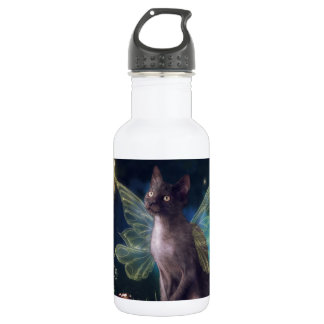 Magical Faery Kitty Water Bottle