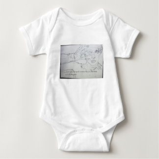 Magical Faery minded items for beings Baby Bodysuit