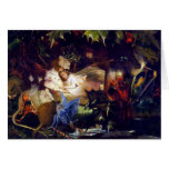 Magical Fairy Fantasy Painting: The Fairy Bower Greeting Card