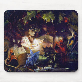 Magical Fairy Fantasy Painting: The Fairy Bower Mouse Pad